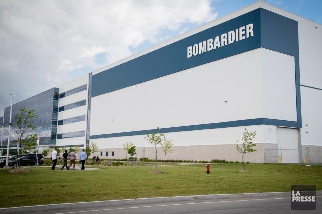 Bombardier et Triumph ont conclu une entente réglant leurs différends... (Archives La Presse)