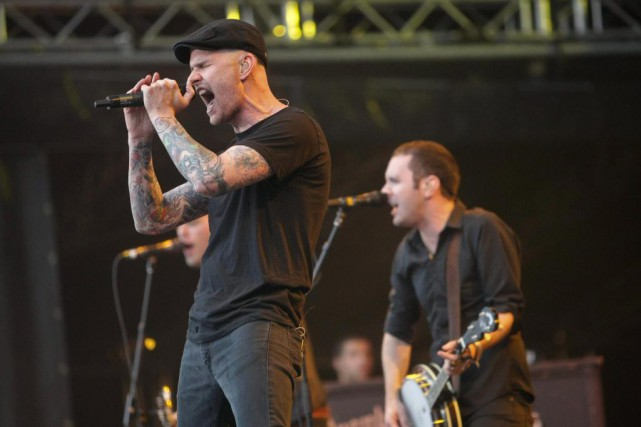 Le groupe américain Dropkick Murphys... (Photo Archives La Presse canadienne)