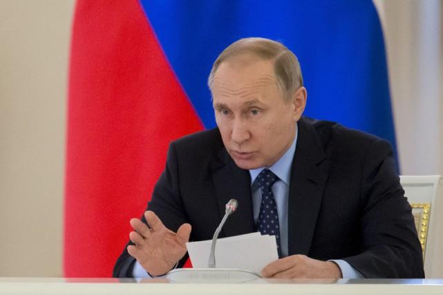 Le président russe Vladimir Poutine... (Photo Ivan Sekretarev, Reuters)