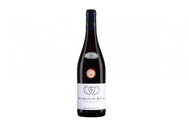 Fougeray de Beauclair Bourgogne 2015, 23,80 $ (12526413)... (Photo fournie par la SAQ)