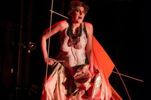 Stéphanie Lessard reprend le rôle créé parPauline Vaillancourt... (Photo Yves Dubé, fournie parChants libres)