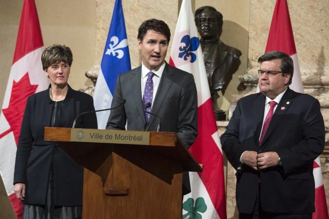 La ministre du Développement international Marie-Claude Bibeau, le... (Photo Paul Chiasson, La Presse canadienne)