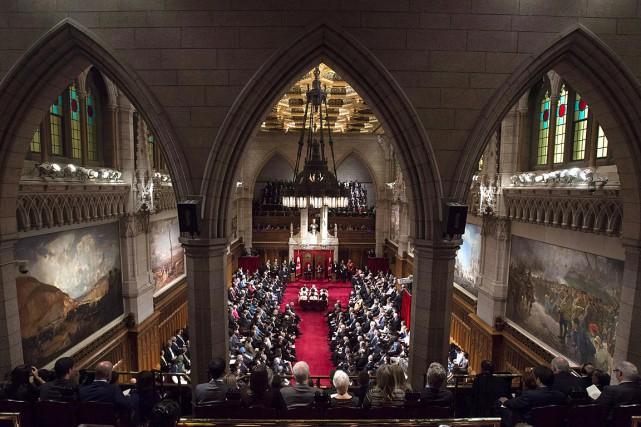 Le Sénat a voté pour la section du... (SEAN KILPATRICK, ARCHIVES LA PRESSE CANADIENNE)
