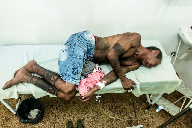 Les terres censées être réservées aux autochtones sont... (PHOTO AFP/CIMI)