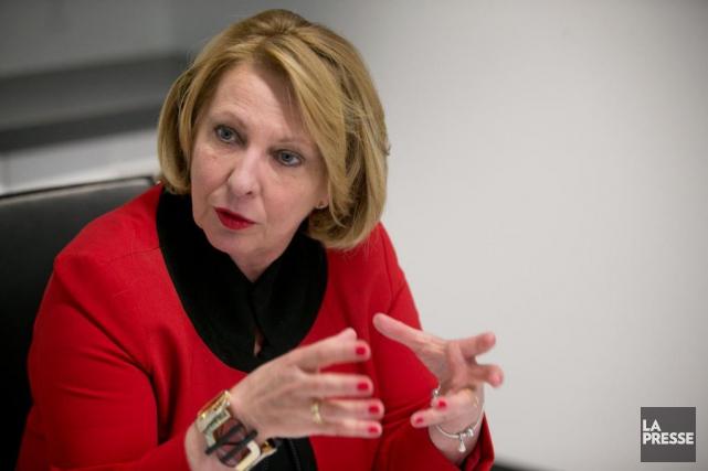 La ministre des Relations internationales Christine St-Pierre a... (Archives La Presse)