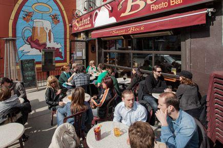 De plus, les serveurs sont imposés uniquement sur... (Photo: Édouard Plante-Fréchette, archives La Presse)