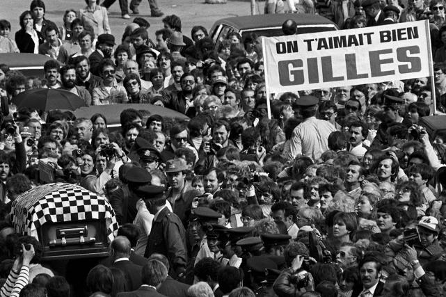 Le 12 mai 1982, des milliers de partisans... (Archives Le Soleil)