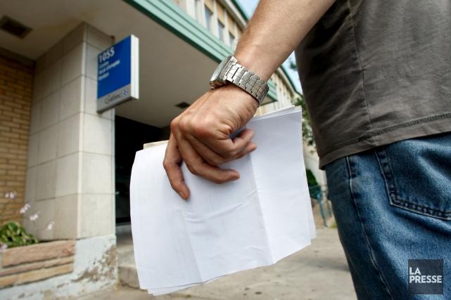 La diminution du taux de chômage en avril... (La Presse)