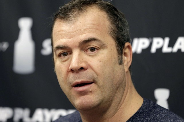 Alain Vigneault n'a pas été trop impressionné par... (Archives, Associated Press)