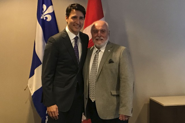 Gilles Potvin, maire de Saint-Félicien, a rencontré le... (Courtoisie)