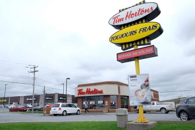La récente décision du propriétaire des Tim Hortons... (La Voix de l'Est, Alain Dion)