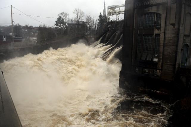La rivière Chicoutimi n'est plus sous surveillance, son... (Rocket Lavoie)