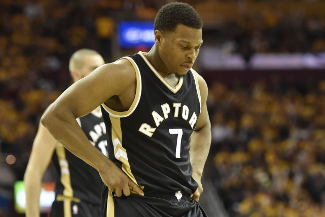 Kyle Lowry est un cas incertain pour le... (photo David Richard, USA TODAY Sports)