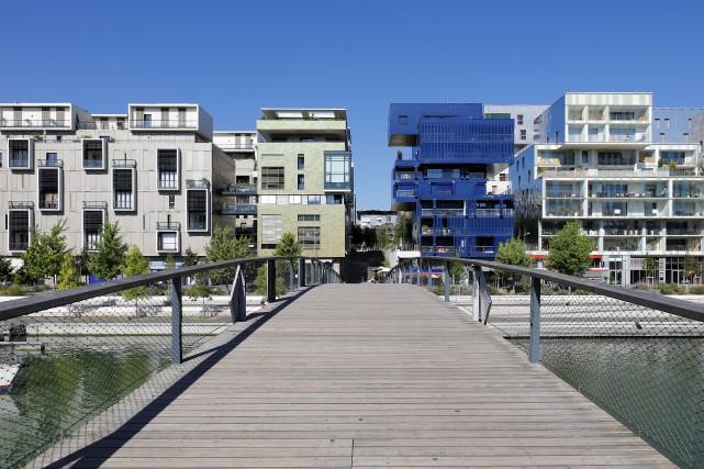 Le quartier Confluence, à Lyon... (123RF/Frédéric Prochasson)