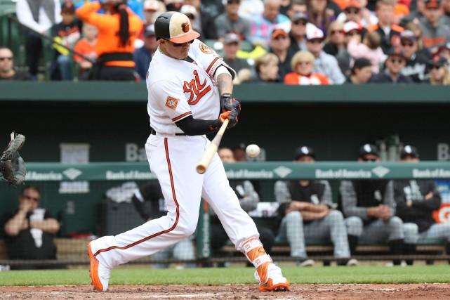 Manny Machado... (Photo Mitch Stringer, USA TODAY Sports)
