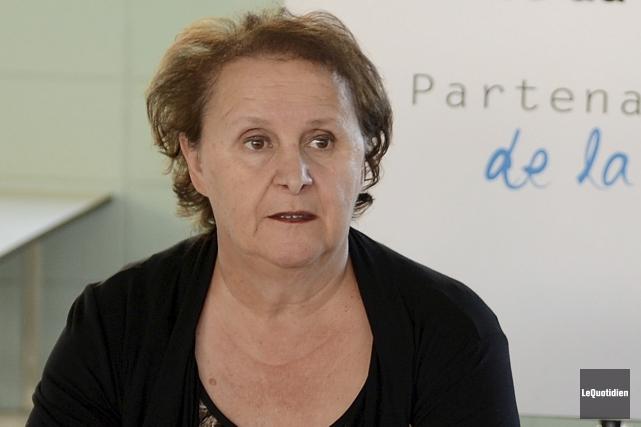 Liz S. Gagné a été élue présidente de... (Archives Le Quotidien, Jeannot Lévesque)