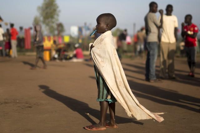 Les enfants représentent 62% des 1,8million de Soudanais... (PHOTO ASSOCIATED PRESS)