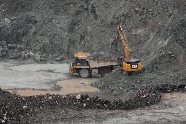 Les nuages se dissipent sur le secteur minier... (Photo Martin Chamberland, Archives La Presse)