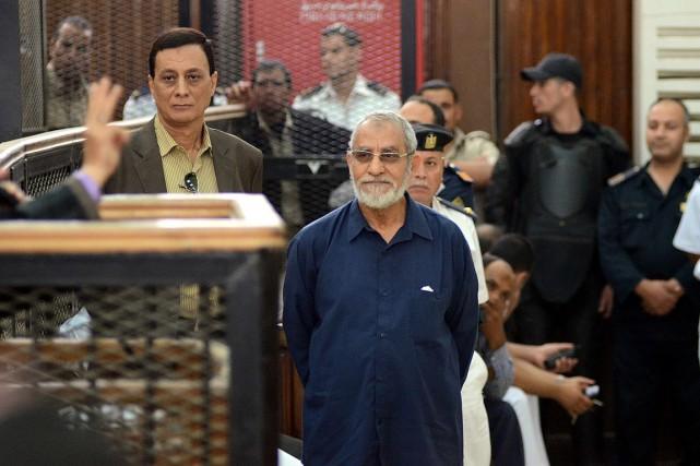 Le chef des Frères musulmans en Égypte, Mohamed... (PHOTO AHMED GAMEL, ARCHIVES AGENCE FRANCE-PRESSE)