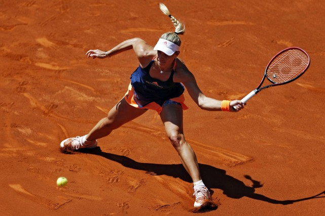 Angelique Kerber... (Photo Francisco Seco, AP)
