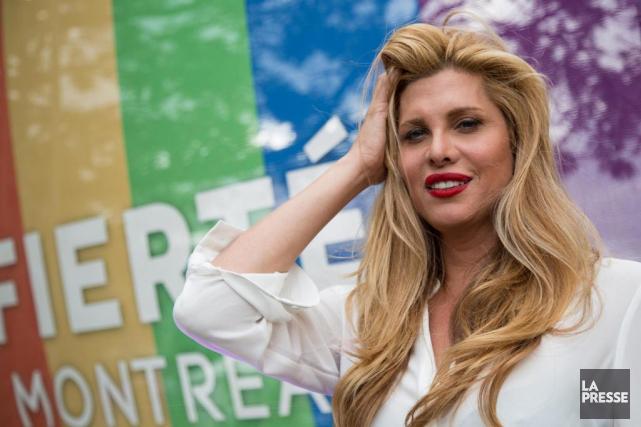 Pour la troisième année, l'actrice transgenreCandis Cayne animera... (PHOTO MATHIEU WADDELL, Archives LA PRESSE)