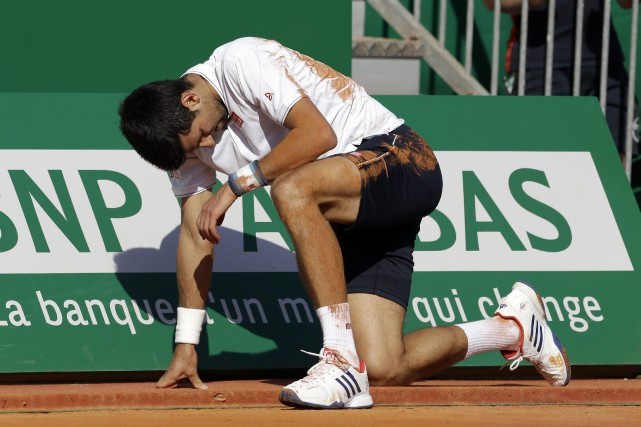 Pour Novak Djokovic, le tournoi de Madrid lui... (Photo Claude Paris, archives AP)