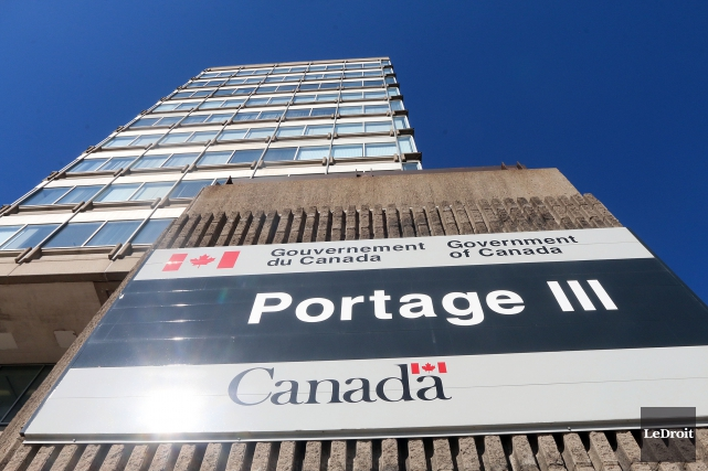 Place du Portage... (Archives, Le Droit)