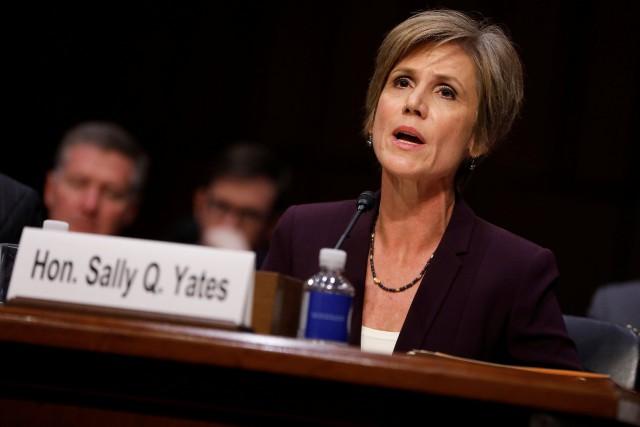 Sally Yates avait assuré l'intérim en tant que... (PHOTO REUTERS)