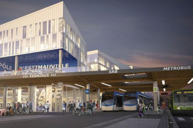 Le contrat liant le Réseau de transport de... (Image fournie par la Ville de Québec)