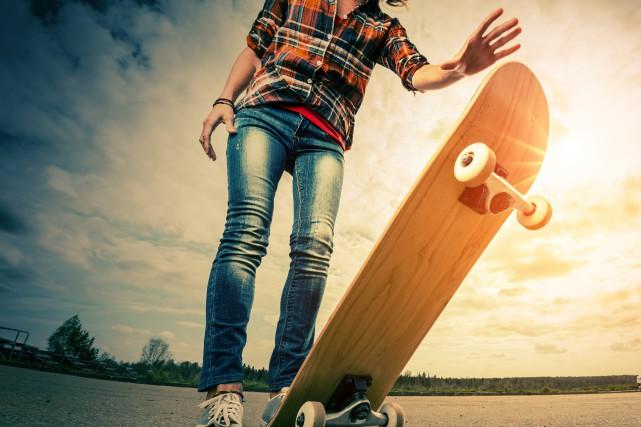 À partir du mois d'août, les planchistes et patineurs à roulettes en quête de... (Photo 123rf)