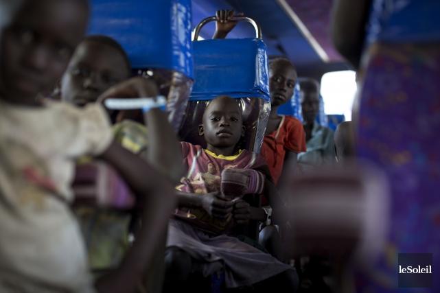Des milliers d'enfants ayant fui le Soudan du... (Photothèque Le Soleil)