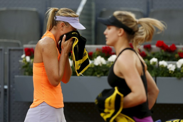 Cette victoire de Bouchard contre son ancienne idole... (Francisco Seco, Associated Press)