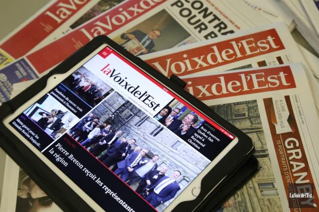 Samedi 6mai, dans le cadre de la Journée mondiale de la liberté de la presse... (La Voix de l'Est)