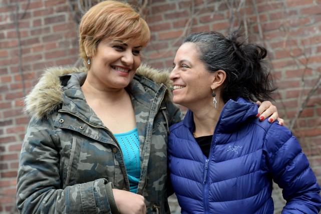 Sawsan Alalwan, immigrée au Québec en 2011, peut... (Le Soleil, Erick Labbé)