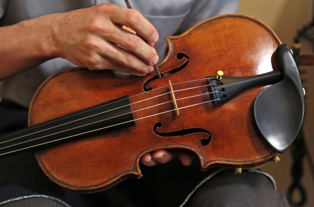 Les projections des violons italiens des XVIIe et... (ARCHIVES AP)