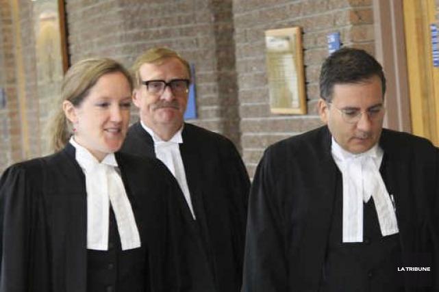 La procureure aux poursuites pénales du Canada Me... (La Tribune, René-Charles Quirion)