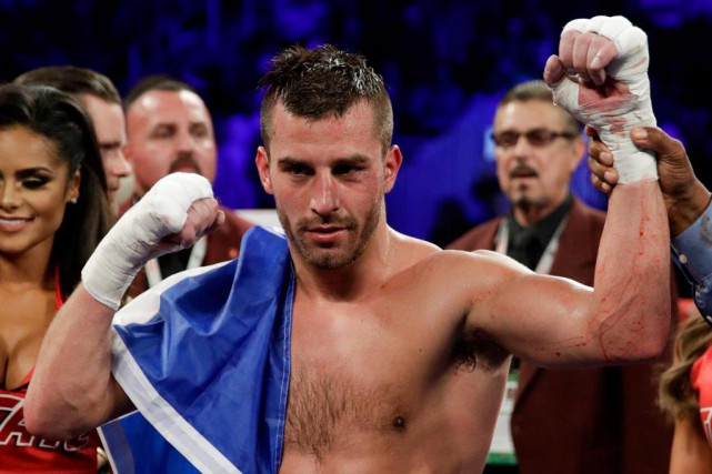 David Lemieux a battu le Mexicain Marco Reyes par... (Photo John Locher, Associated Press)