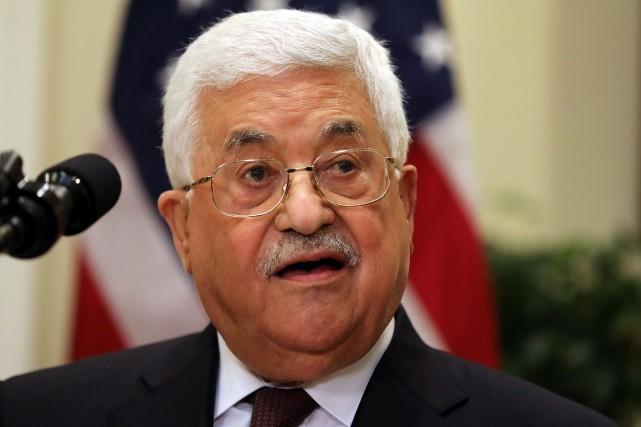 Mahmoud Abbas... (Photo Carlos Barria, archives REUTERS)
