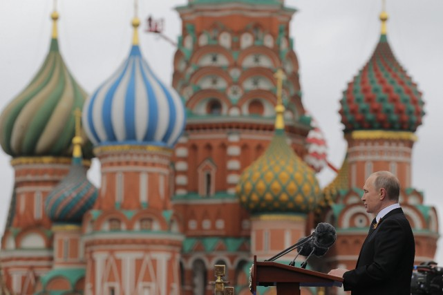 Vladimir Poutine... (Photo Yuri Kochetkov, Associated Press)