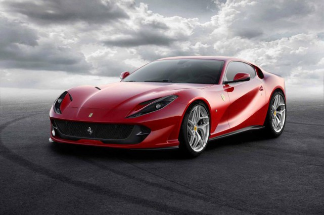 La 812 Superfast de Ferrari... (PHOTO FERRARI)