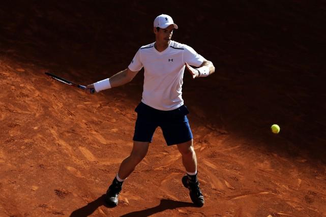 Andy Murray a remporté son premier match au... (Photo Francisco Seco, AP)
