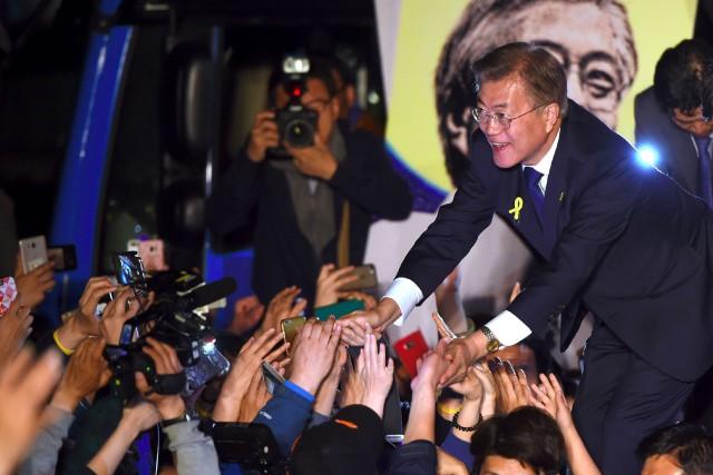 «Je serai le président de tous les Sud-Coréens»,... (PHOTO AFP)