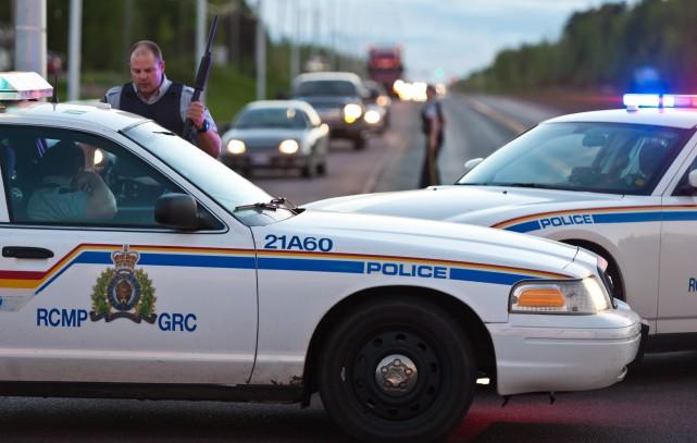 Au procès de la GRC pour infractions au Code du travail, un policier est venu... (PHOTO ARCHIVES LA PRESSE CANADIENNE)