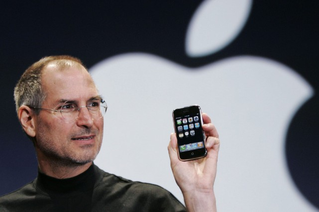 Steve Jobs en janvier 2007.... (ARCHIVES AP)