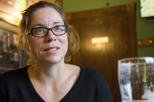 Marie-Chantal Houde, cofondatrice de la Fromagerie Nouvelle-France de... (Spectre Média, Marie-Lou Béland)