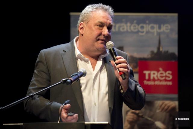 Le directeur-général d'Innovation et Développement économique Trois-Rivières, Mario... (Sylvain Mayer, Le Nouvelliste)