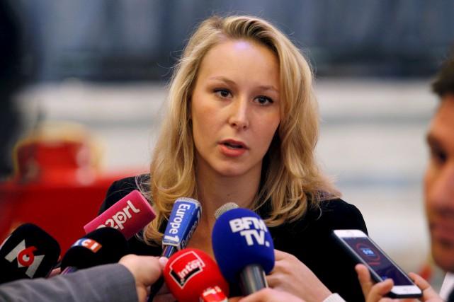 Marion Maréchal Le Pen renonce à briguer un... (AFP, Geoffroy Van Der Hasselt)