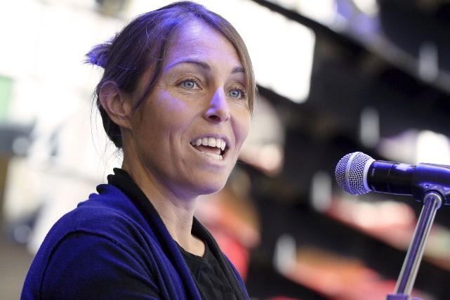 Marie-Hélène Prémont a accepté la présidence d'honneur du... (Le Soleil, Yan Doublet)
