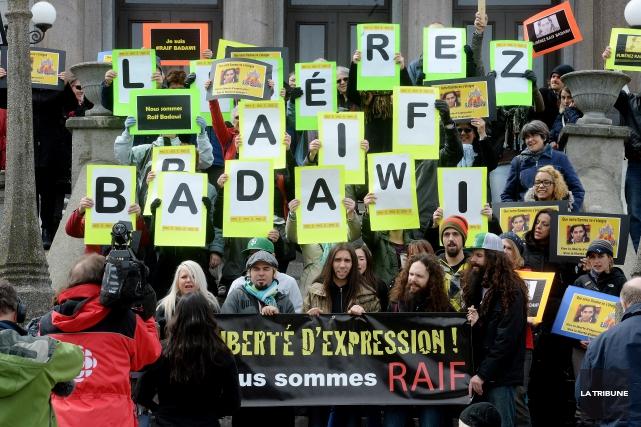 ÉDITORIAL / Où en est le dossier du blogueur saoudien Raïf Badawi, emprisonné... (Archives, La Tribune)