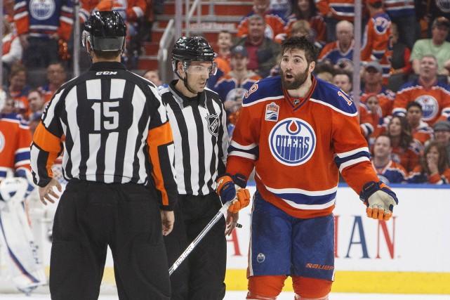 Échangé aux Oiliers par les Ducks au printemps... (La Presse canadienne, Jason Franson)